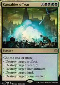 Casualties of War - Prerelease Promos