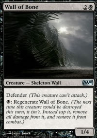 Wall of Bone - Magic 2010