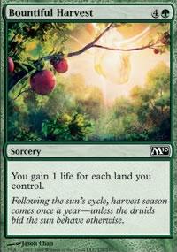 Bountiful Harvest - Magic 2010