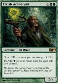 Elvish Archdruid - Magic 2010