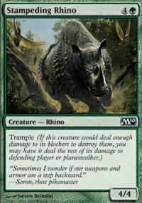 Stampeding Rhino - Magic 2010