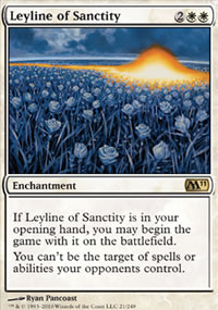 Leyline of Sanctity - Magic 2011