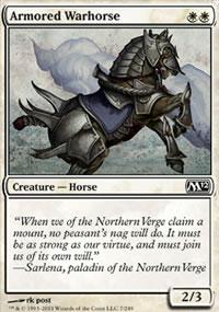 Armored Warhorse - Magic 2012