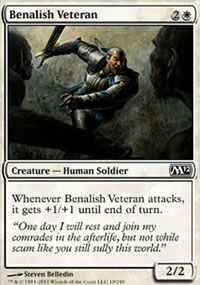 Benalish Veteran - Magic 2012