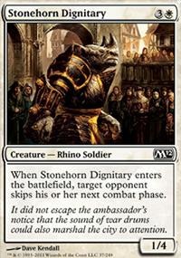 Stonehorn Dignitary - Magic 2012