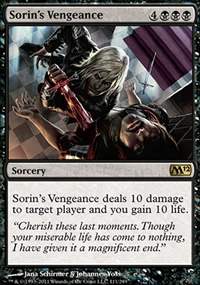 Sorin's Vengeance - Magic 2012