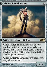 Solemn Simulacrum - Magic 2012