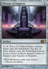 Throne of Empires - Magic 2012