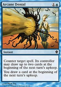 Arcane Denial - Commander 2013