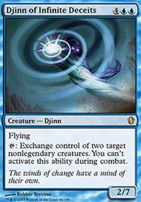 Djinn of Infinite Deceits - Commander 2013
