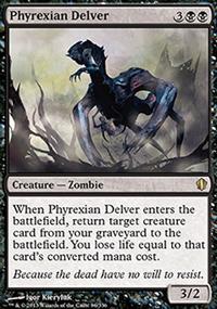 Phyrexian Delver - Commander 2013