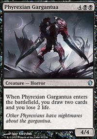 Phyrexian Gargantua - Commander 2013