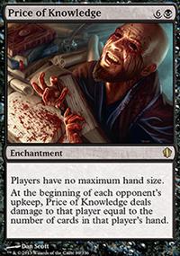 Price of Knowledge - Commander 2013