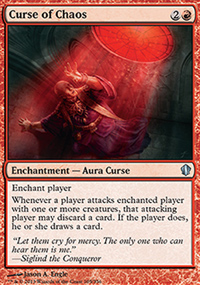Curse of Chaos - Commander 2013