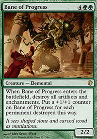 Bane of Progress - Commander 2013
