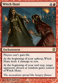 Witch Hunt - Commander 2013
