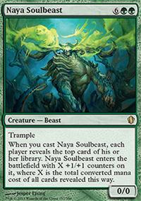 Naya Soulbeast - Commander 2013