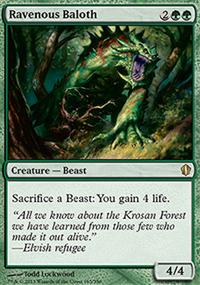 Ravenous Baloth - Commander 2013