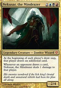 Nekusar, the Mindrazer - Commander 2013