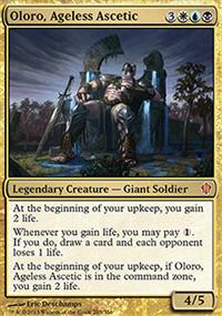 Oloro, Ageless Ascetic - Commander 2013