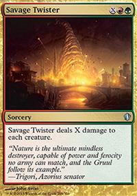 Savage Twister - Commander 2013