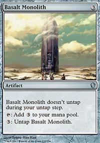 Basalt Monolith - Commander 2013