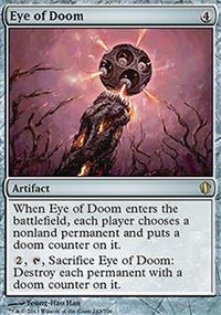 Eye of Doom - Commander 2013