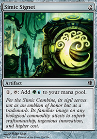 Simic Signet - Commander 2013