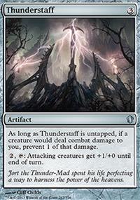 Thunderstaff - Commander 2013