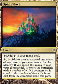 Opal Palace - Commander 2013