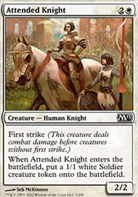 Attended Knight - Magic 2013