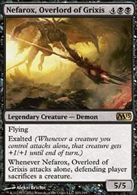 Nefarox, Overlord of Grixis - Magic 2013