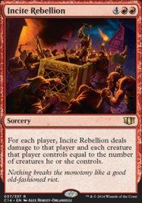 Incite Rebellion - Commander 2014