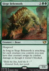 Siege Behemoth - Commander 2014