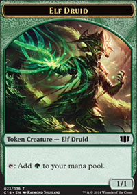 Elf Druid - Commander 2014