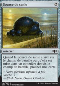 Source de sanie -
