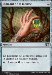 Diamant de la mousse -