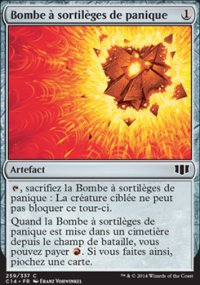 Bombe à sortilèges de panique -