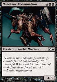 Minotaur Abomination - Magic 2014