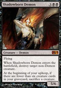 Shadowborn Demon - Magic 2014