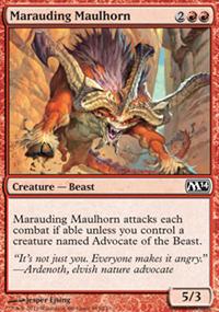 Marauding Maulhorn - Magic 2014