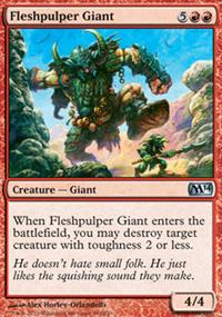 Fleshpulper Giant - Magic 2014