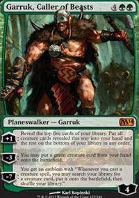 Garruk, Caller of Beasts - Magic 2014
