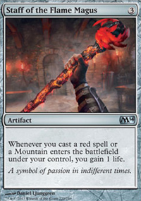 Staff of the Flame Magus - Magic 2014
