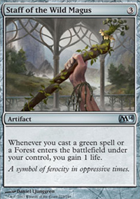 Staff of the Wild Magus - Magic 2014
