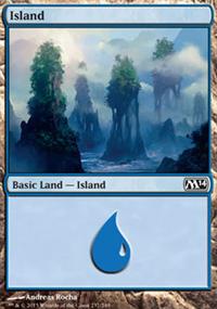 Island - Magic 2014