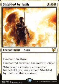 Shielded by Faith - Commander 2015