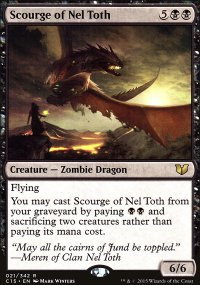 Scourge of Nel Toth - Commander 2015