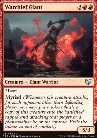 Warchief Giant - Commander 2015