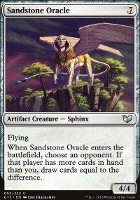 Sandstone Oracle - Commander 2015